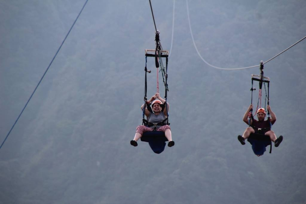 Zip Flying in Nepal. Pokhara | Up Everest
