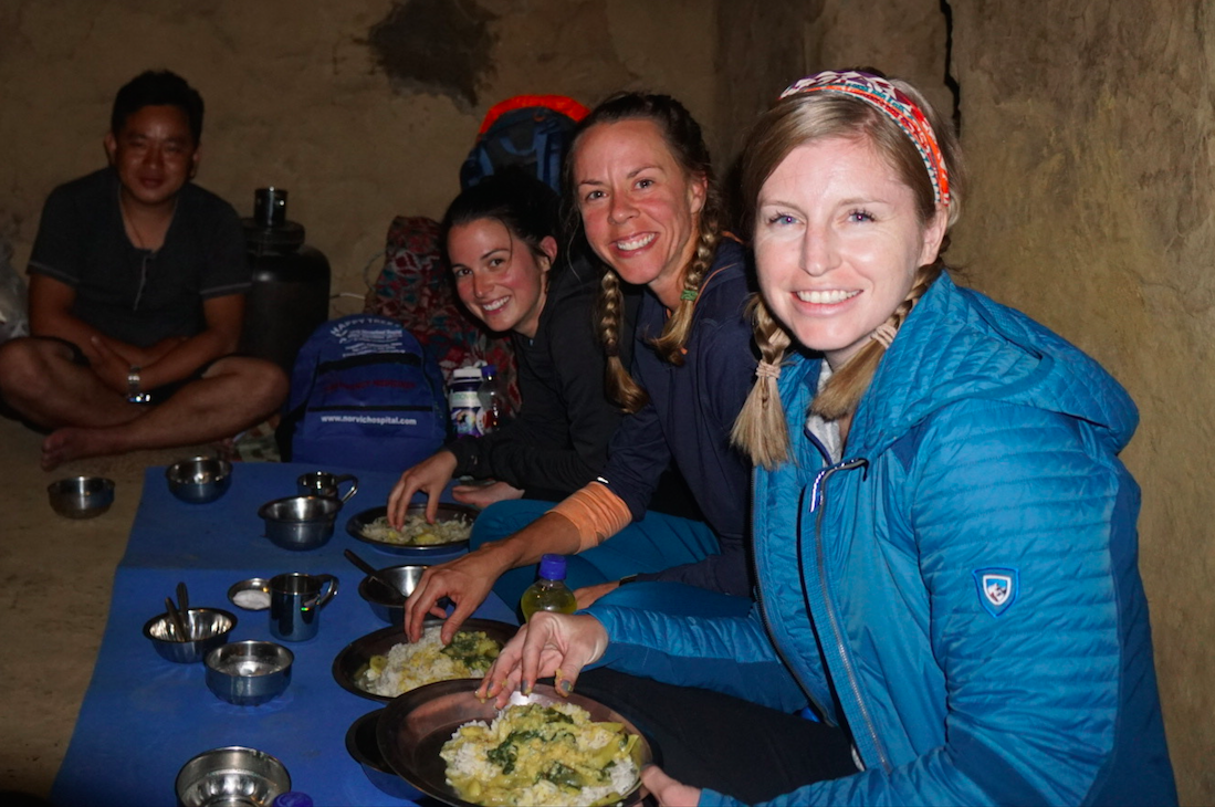 Foods during Nepali Trail