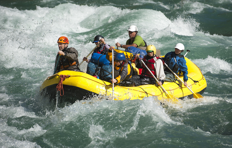Rafting in Nepal during off season