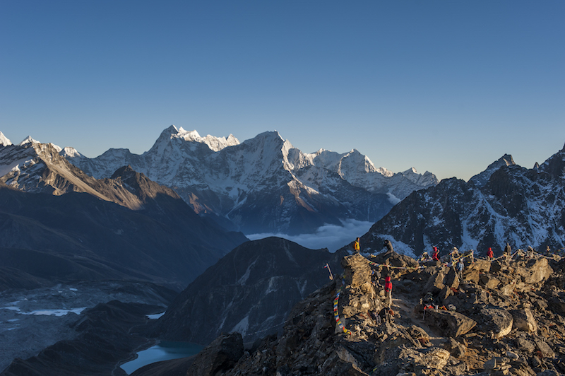 Eight of the world's tallest mountains are in Nepal