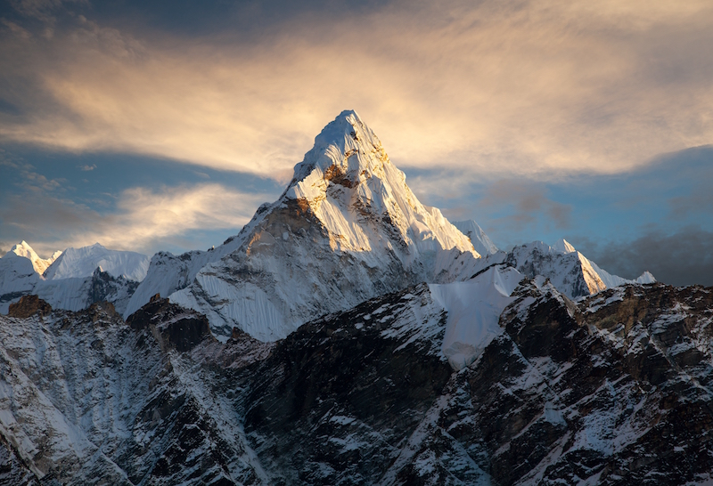 Ama Dablam Mountain the everest region
