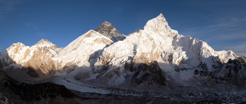 Nuptse Mountain Everest Region