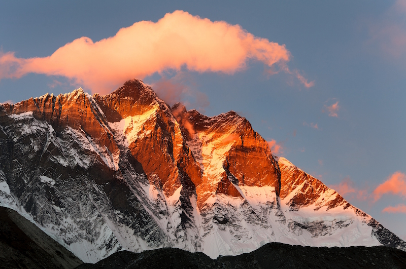 Lhotse Mountain Everest region