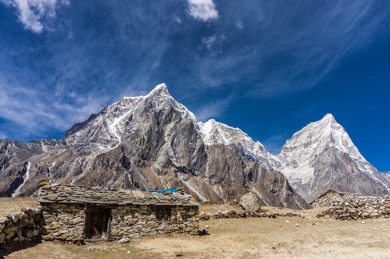Lobuche Mounta in Everest
