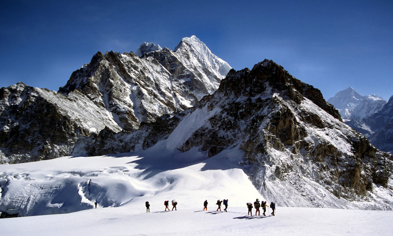 Mera Peak during Peak climbing in Nepal
